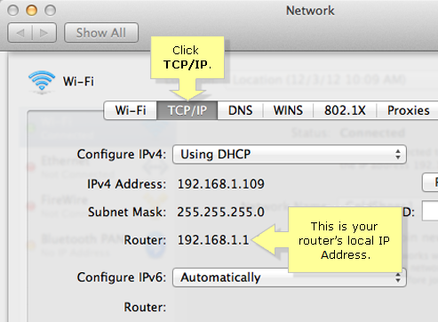 how to connect to a printer using ip address mac