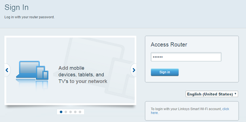 Linksys Official Support - How to access the router's web