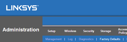 Linksys Official Support - Resetting your Linksys router to