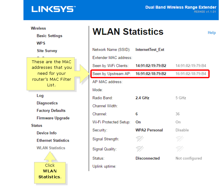 Linksys Official Support - Finding the MAC Address of your