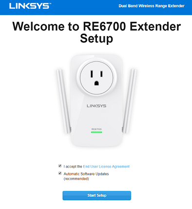 Linksys Re6700 Setup