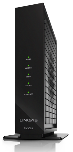 Linksys Official Support Getting To Know The Linksys Cm3024 Docsis 3 0 Cable Modem 24x8 Bonded Channels