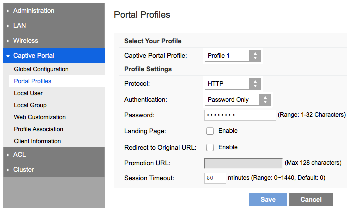 Linksys Official Support - Configuring the Captive Portal feature of