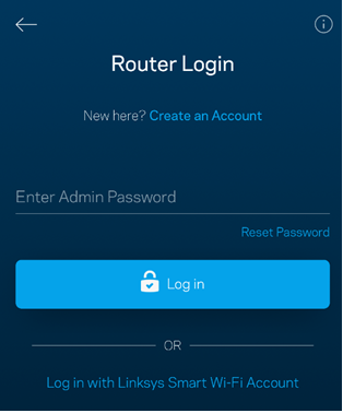 Linksys Official Support - Recovering the admin password of