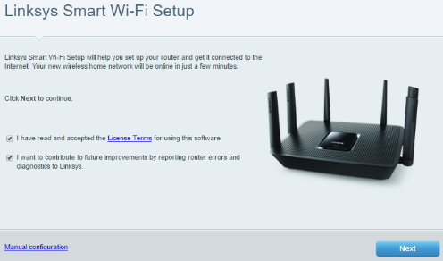 Linksys official support setting up the linksys ea9300 user added image greentooth Gallery