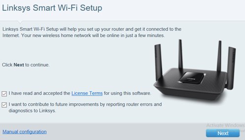 Linksys official support setting up the linksys ea8300 user added image greentooth Gallery