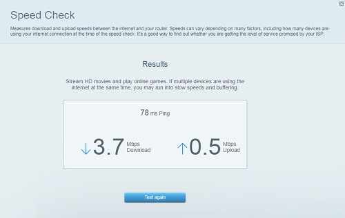 Linksys Official Support Overview Of The Linksys Smart Wi Fi Speed Check Tool